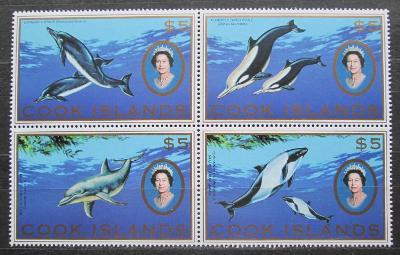 Cookovy ostrovy 2007 Mořská fauna TOP SET Mi# 1599-1602 Kat 40€ 1296