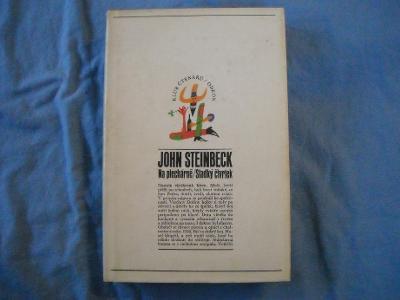John Steinbeck - Na plechárně / Sladký čtvrtek - pěkný stav