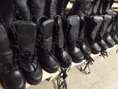 Nová polní obuv vz.2000 s podšívkou vel.240