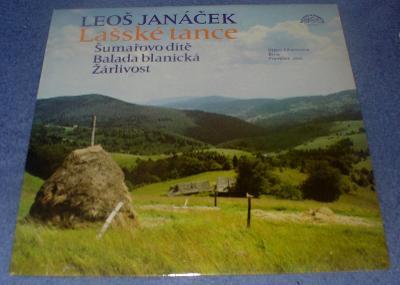 LP Leoš Janáček - Lašské tance