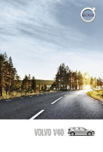 Volvo V40 prospekt model 2016 PL