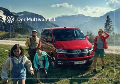 Volkswagen Vw Multivan 6.1 model 2020 prospekt 10 / 2019 AT