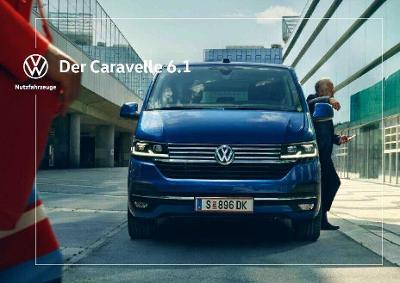 Volkswagen Vw Caravelle 6.1 model 2020 prospekt  10 / 2019  AT