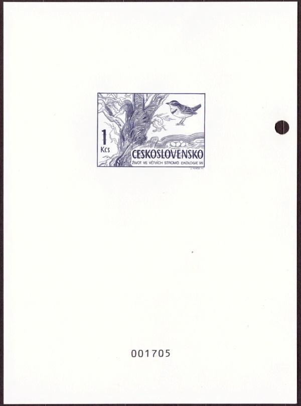 ČR - PŘÍLEŽITOSTNÝ TISK, MERKUR REVUE 1999, EKOLOGIE 1 KČS (T9363) - Filatelie