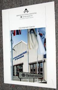 THYSSEN BSI VERKEHRSTECHNIK DEVELOPMENT CENTRE LETÁK ŽELEZNICE 1993