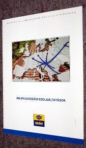 MAGYAR ÁLLAMVASUTAK RÉSZEVÉNYTÁRSASÁG MÁV VÝROČNÍ ZPRÁVA 1998 MAĎARSKY