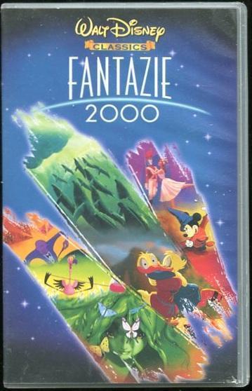 VHS - Walt Disney - Fantazie 2000