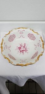 č.2 krásná porcelánová miska / talíř - starožitnost po babičce
