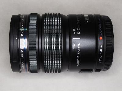 Objektiv Olympus M.ZUIKO ED 12-50mm f/3,5-6,3 EZ s funkcí makro