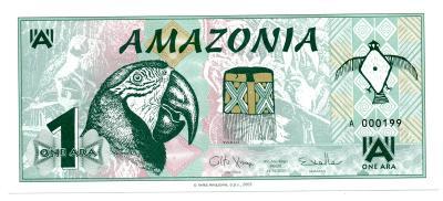 Amazonie 1 ara 24.10.2005 (P NL) UNC - pro jedničkáře s katalogem
