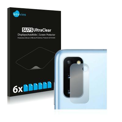 6x Ochranná fólie - Samsung Galaxy S20 (Kamera)