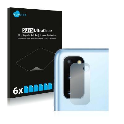 6x Ochranná fólie - Samsung Galaxy S20 5G (Kamera)