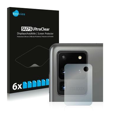 6x Ochranná fólie - Samsung Galaxy S20 Ultra (Kamera)
