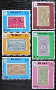 Paraguay 1990 LOH Barcelona s kupónem Mi# 4445-49 Kat 17€ 1200