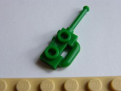 LEGO original dil LEGO VYSÍLAČKA ZELENÁ