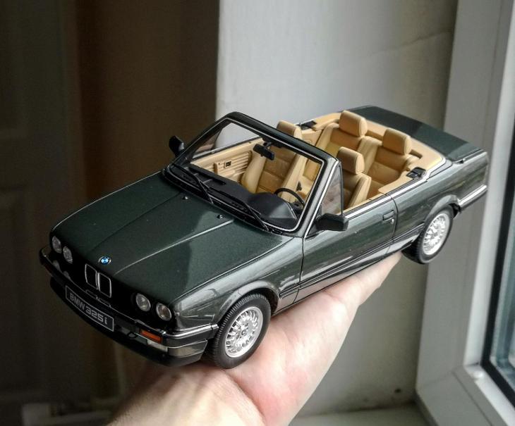 BMW E30 325i cabrio 1:18 Ottomobile   Aukro