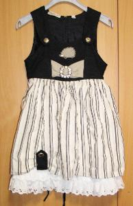 8205 LANDHAUS - bavorské šaty pro děti vel.104