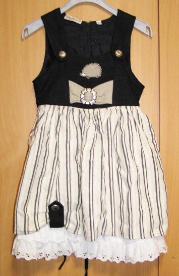 8205 LANDHAUS - bavorské šaty pro děti vel.104 - Oblečení