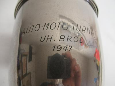 POHÁR AUTO MOTO UH.BROD 1947  200301/34