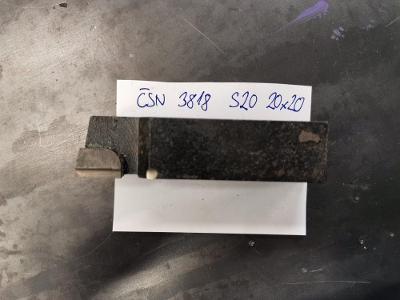 Soustružnický Nůž NAREX ČSN S20 3818 20x20