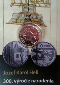 10 EURO - JOZEF KAROL HELL b.k.