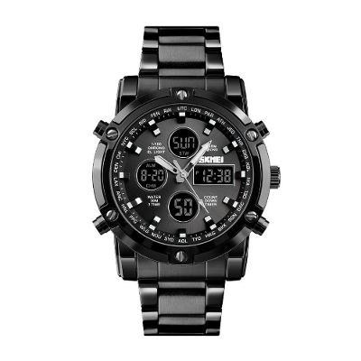 Hodinky SKMEI 1389 - pánské sportovní digitální vodotěsné hodinky BLK