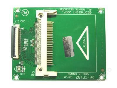 NOVÁ! Redukce 1,8 ZIF Micro drive na CF kartu