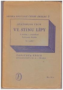 Sv. Čech - Ve stínu lípy - Topičova edice1947