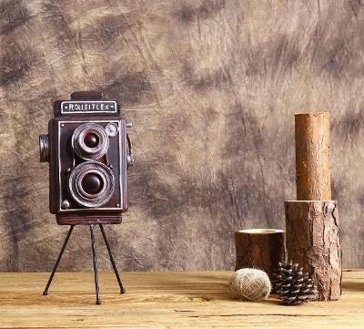 Vintage retro model fotoaparát Rolleiflex