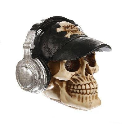 Lebka se sluchátky model Vilead
