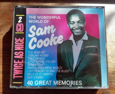 SAM COOKE - The Wonderful World Of Sam Cooke - 2 CD SET BOX