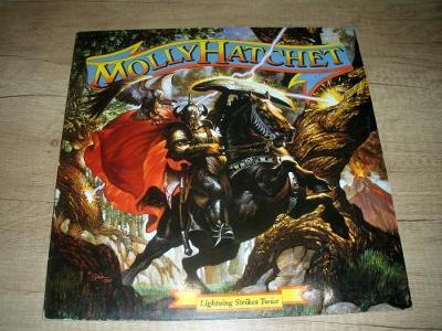 Molly Hatchet – Lightning Strikes Twice (1989) 1.Press , EX-