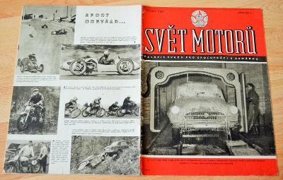 ŠKODA 440 / OCHRANNÉ KRYTY PRO MOTO / ZETOR SUPER - SVĚT MOTORŮ 7/1959