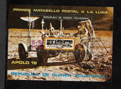 Rovníková Guinea 1 - Kosmos - Apollo 15 -Edwin Aldrin na Měsíci, Rover