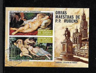 Rovníková Guinea 79 - RUBENS - akty