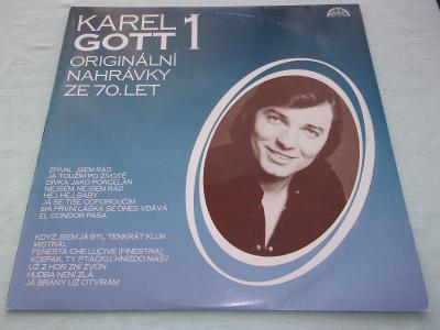 LP Karel Gott Originální nahrávky ze 70.let 1,2