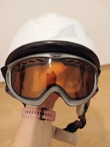 Dámská lyž. helma HEAD - vel. M/L (56-59 mm) + brýle BLIZZARD ZDARMA