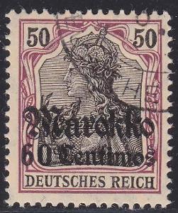 Deutsche Auslandpostämter MAROKO MiNr 53o
