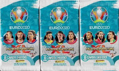 Fotbalové kartičky UEFA Euro 2020 Adrenalyn XL  : Nové balíčky !