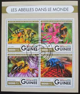 Guinea 2016 Včely Mi# 11931-34 Kat 16€ 1895