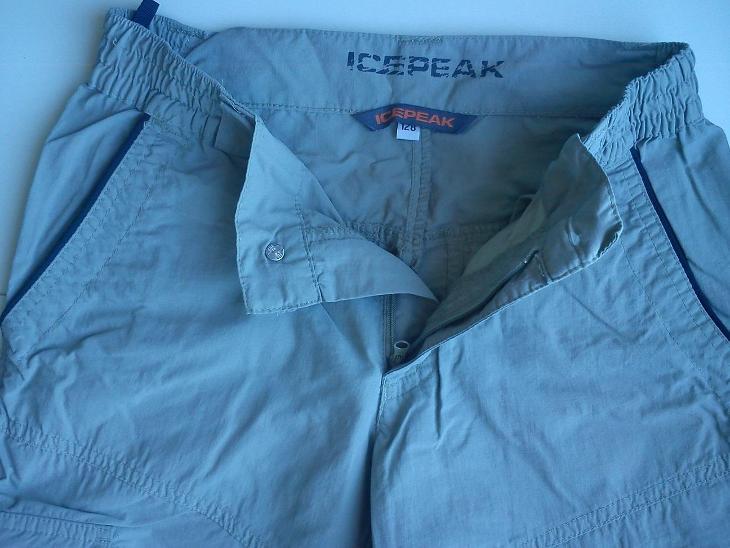 ICE PEAK 3/4 kapsáčové kraťasy vel. 128 - Oblečení
