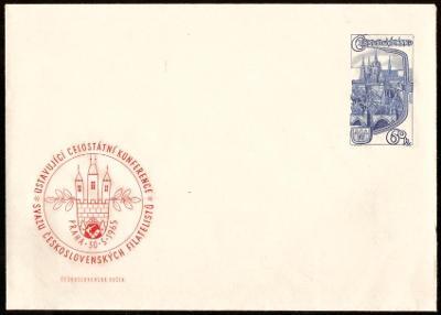 POF. COB 16 - CELINOVÁ OBÁLKA USTAVUJÍCÍ KONFERENCE SČSF, 1965 (T9514)