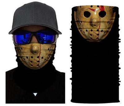 Pátek Třináctého - designová rouška / šátek s 3D efektem  Friday 13th