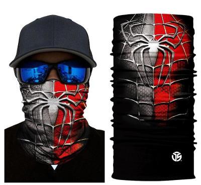 Spider-Man - designová rouška / šátek s 3D efektem Avengers Endgame