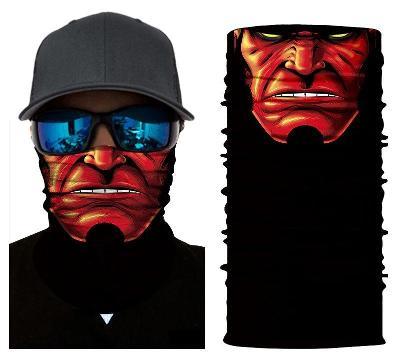 Hellboy - designová rouška / šátek s 3D efektem Avengers Endgame