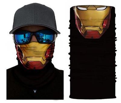 Iron Man - designová rouška / šátek s 3D efektem Avengers Endgame
