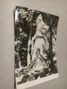 Pohlednice, Mariánské Lázně - Krakonoš, černobílá, neprošla poštou