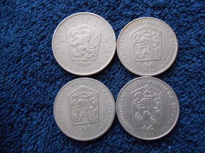 2+5 koruny 1969-77