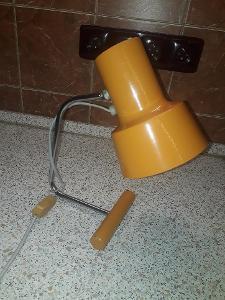 Retro stolní lampa Josef Hůrka. RARE!!