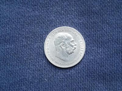 Stříbrná koruna 1913 FJI